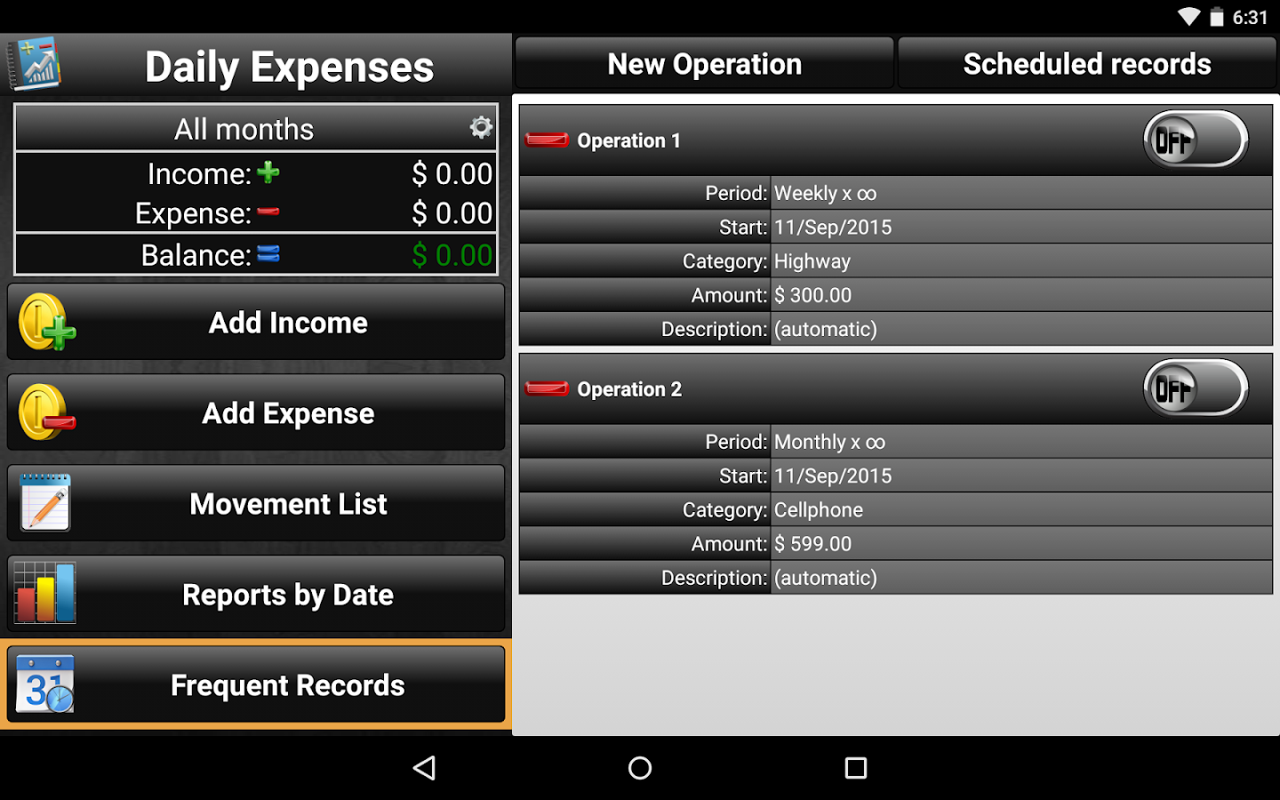 Daily Expenses 2 Screenshot 14
