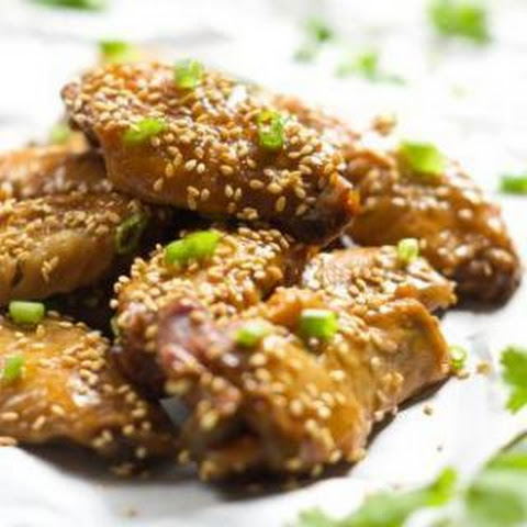 Garlic Honey Teriyaki Chicken Wings