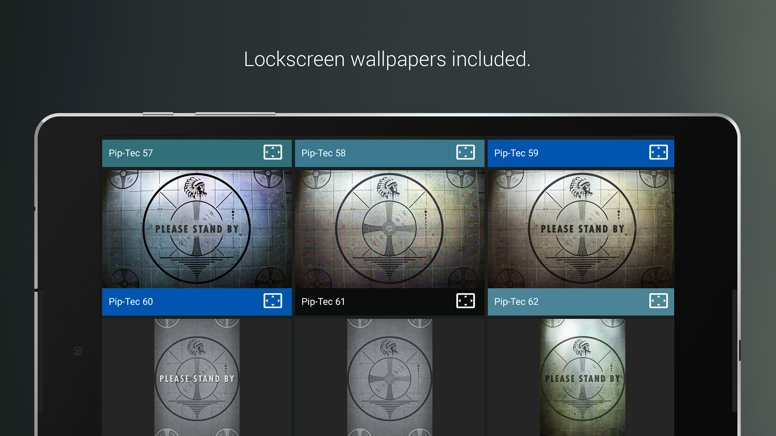 Pip-Tec Blue Icons & Live Wall Screenshot 12