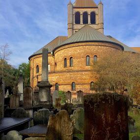 Circular Church, Charleston S.C. by Hugh McLaren - Buildings & Architecture Places of Worship ( photo stream )