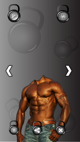 android Bodybuilder Photo Montage Screenshot 4
