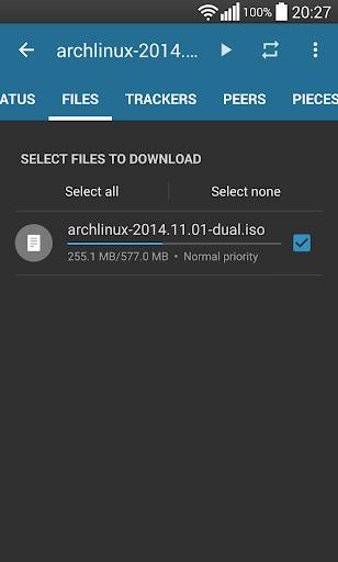 Flud - Torrent Downloader screenshot 5
