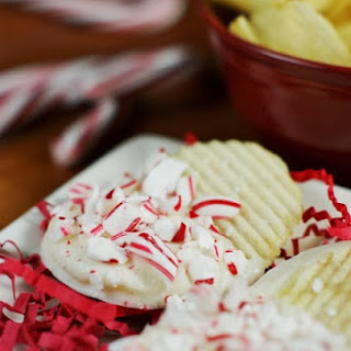 White Chocolate-Peppermint Potato Chips