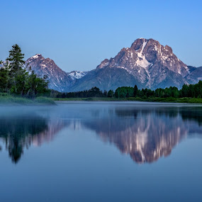 Oxbow Bend by Robert Golub - Landscapes Mountains & Hills