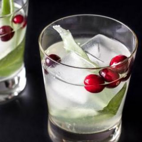 Cranberry Sage Cocktail - vegan