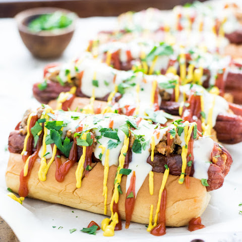 Bacon Cheeseburger Hot Dogs