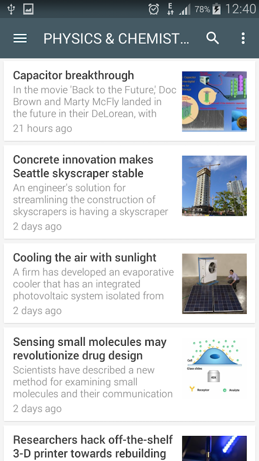Science News Online Screenshot 5