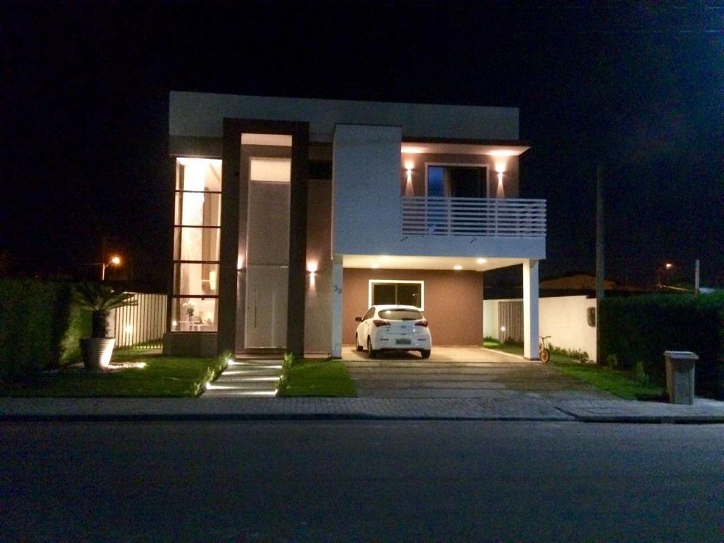 Casa com 4 dormitórios à venda, 238 m² por R$ 1.200.000 - Intermares - Cabedelo/PB