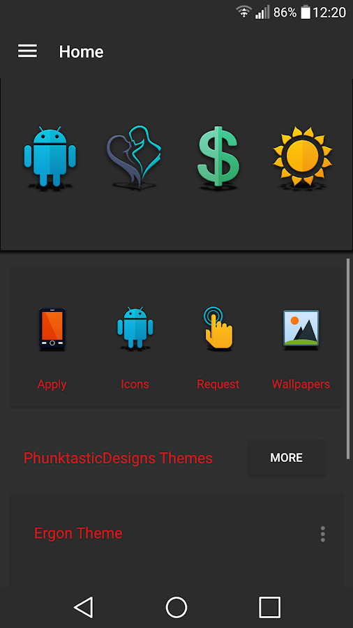 Proton - Icon Pack Screenshot 1