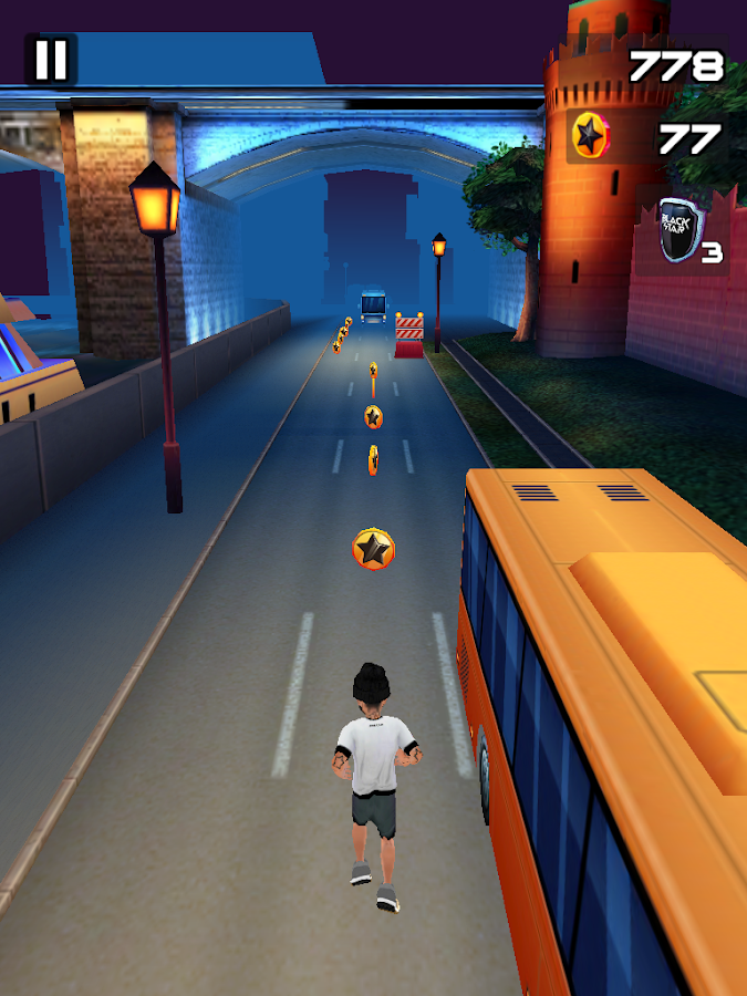 Black Star Runner Screenshot 8
