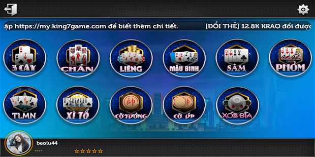 Game Game Danh Bai Doi Thuong KBOP APK for Windows Phone
