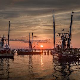 by Ron Maxie - Transportation Boats