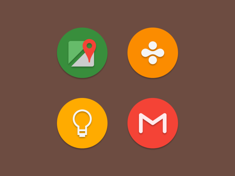 NAXOS FLAT ROUND - ICON PACK Screenshot 7