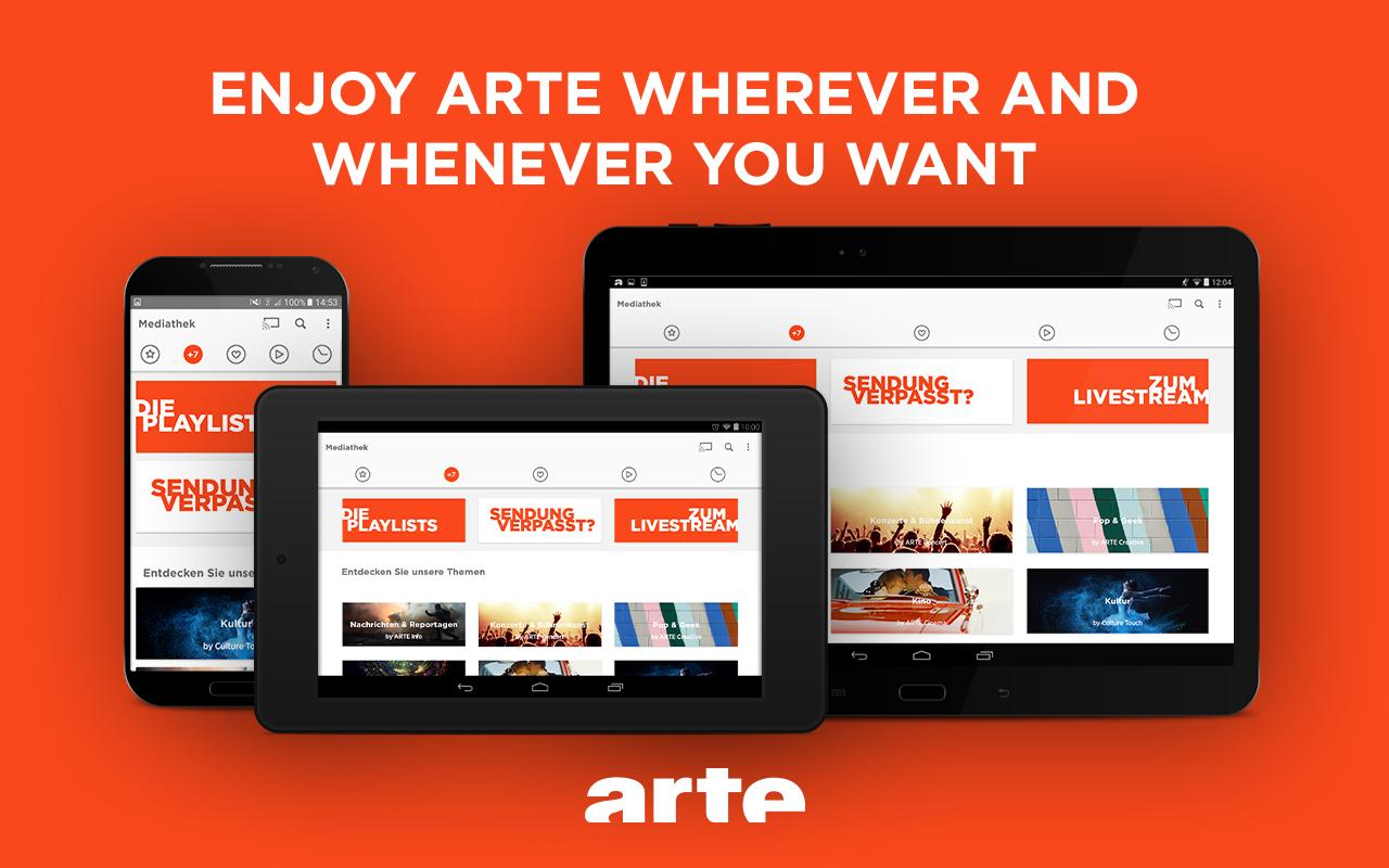 ARTE – Streaming and Catch-up Screenshot 11