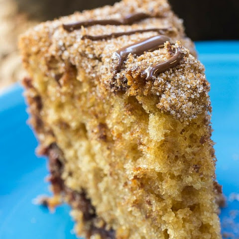 Chocolate Stuffed Sour Cream Coffee Cake