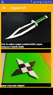 Best Paper Origami 2017- screenshot thumbnail