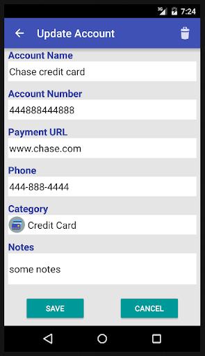 Bills Reminder - screenshot