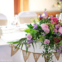 Top Table and Centrepieces from Cheshire Weddings