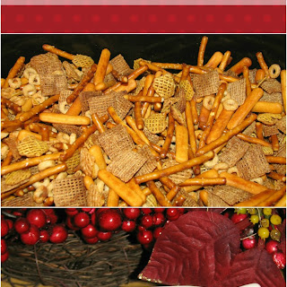 Easy Crock-Pot Party Mix