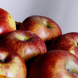 Apples 3 by Pradeep Kumar - Food & Drink Fruits & Vegetables