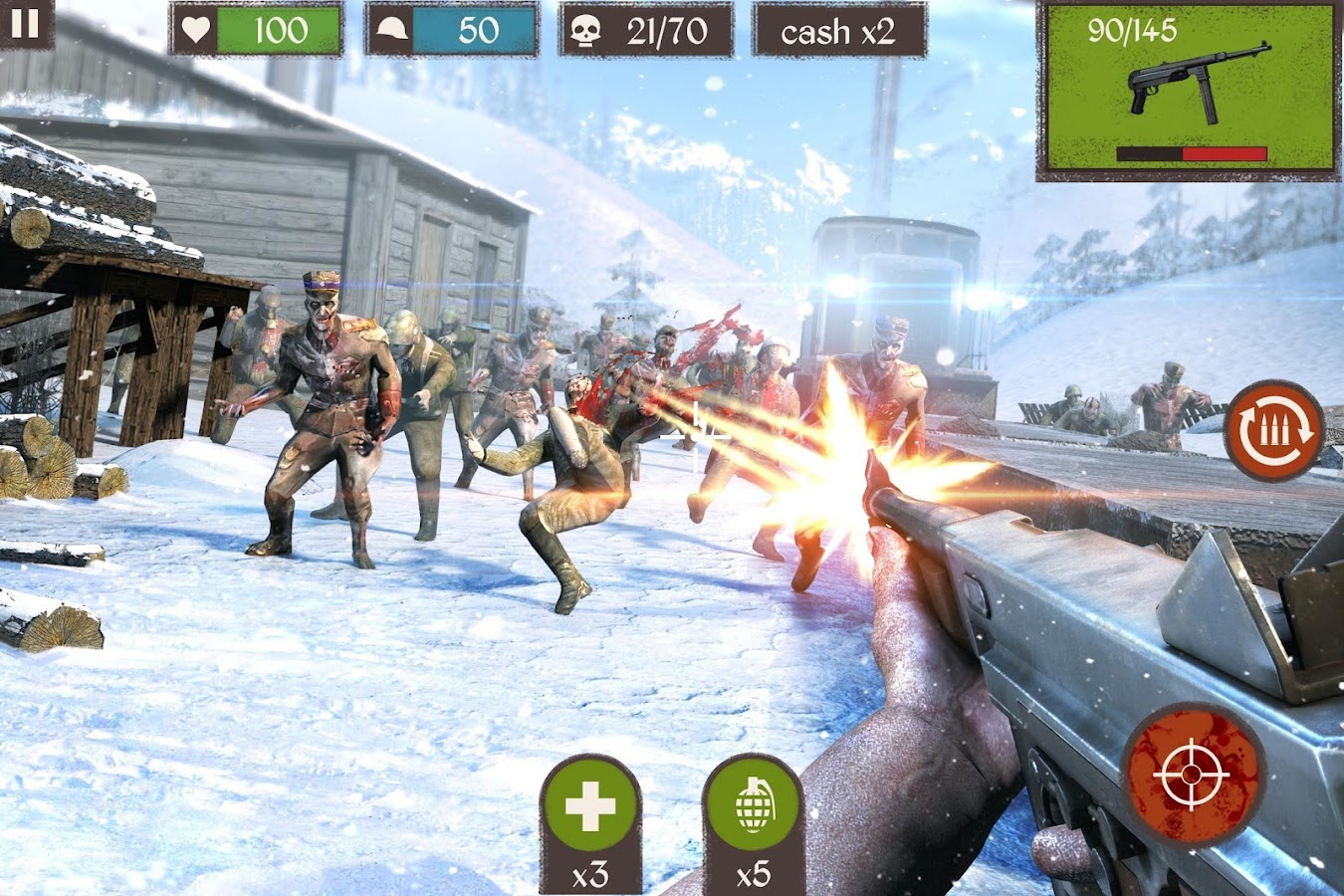 Zombie Call: Trigger Shooter Screenshot 2