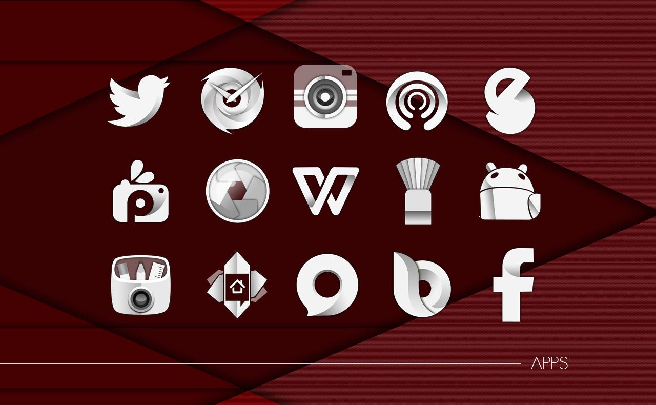 KasatMata UI Icon Pack Theme Screenshot 4