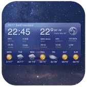 7 Day Weather Forecast Widget APK for Bluestacks