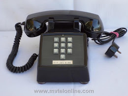 Desk Phones - Western Electric 1500 Black 1
