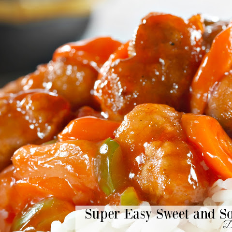 Super Easy Sweet and Sour Chicken