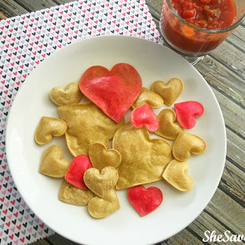Heart Tortilla Chips