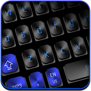 Black Blue Keyboard For PC / Windows 7/8/10 / Mac – Free Download