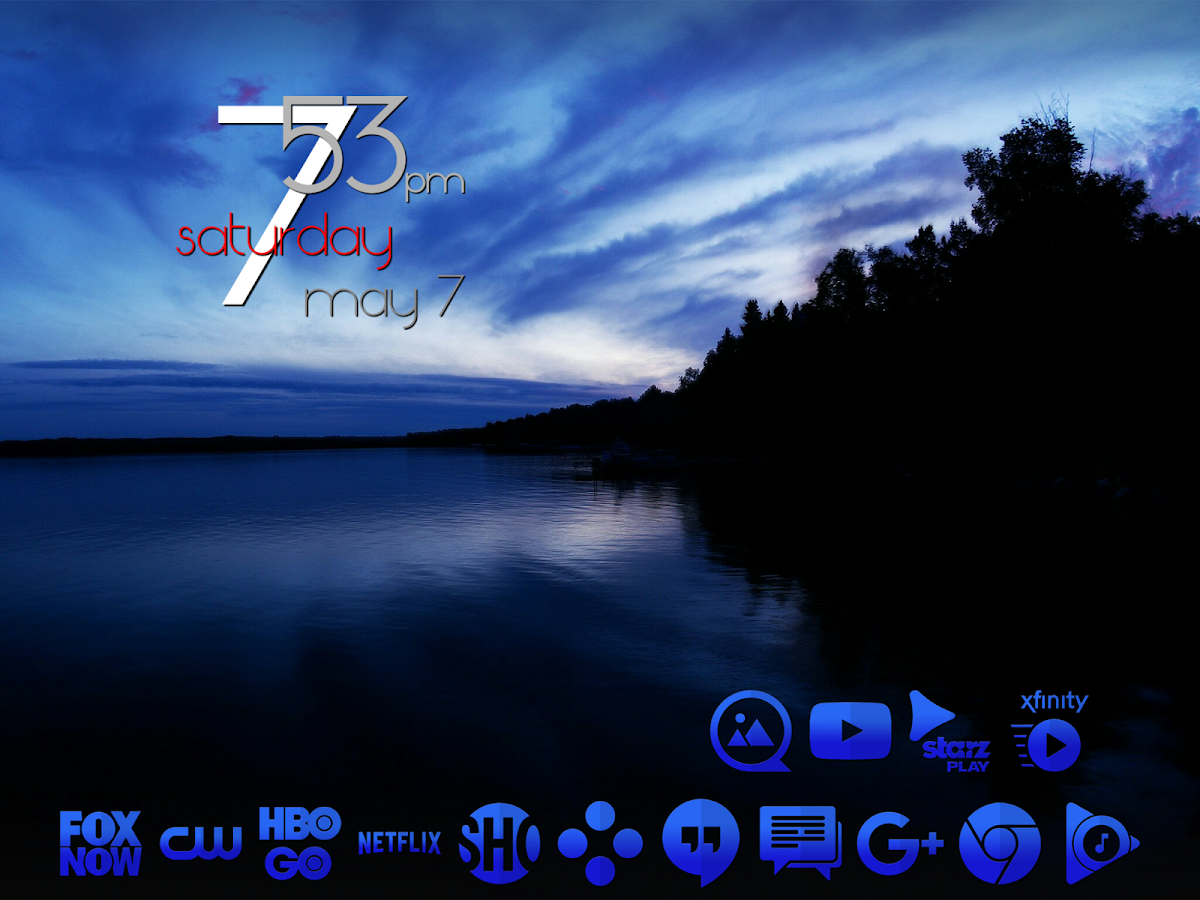 Tap Blue - Icon Pack Screenshot 8