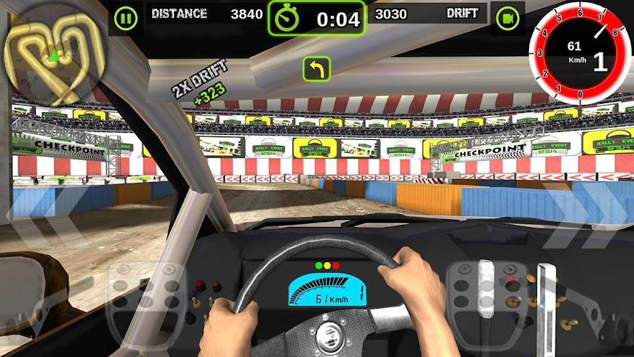Rally Racer Dirt Android App Screenshot