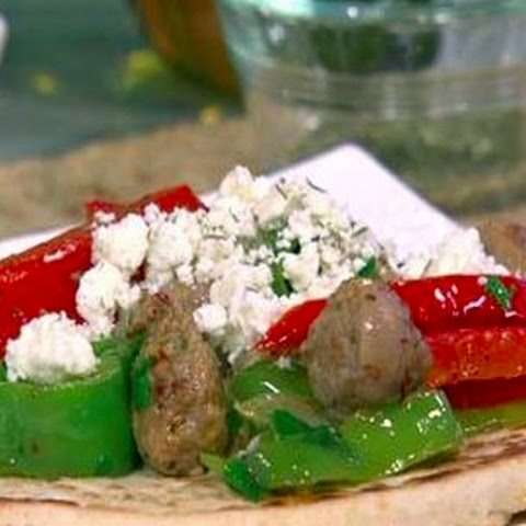 Greek Sausage and Peppers