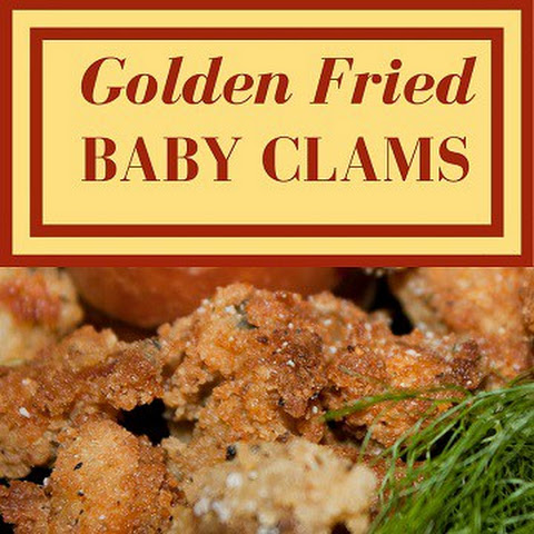 Golden Fried Baby Clams