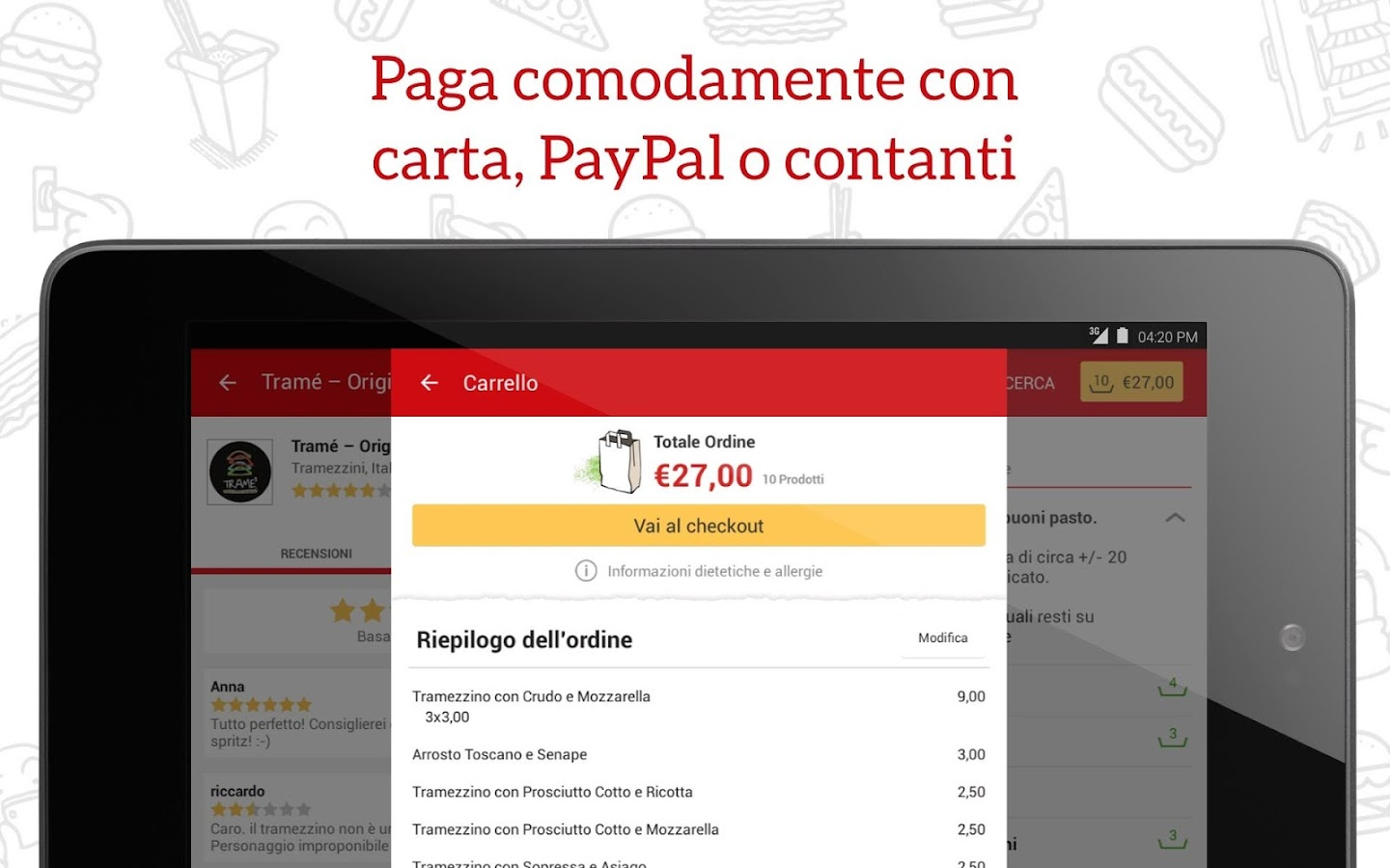 JUST EAT - Pizza a Domicilio Screenshot 9