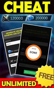 cheat mobile legends prank apk screenshot