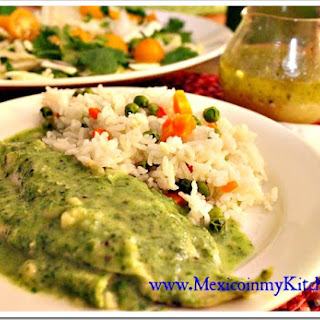 Quick Fish Fillets with Parsley Sauce