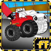 Game Monster Trucks Coloring Game APK for Windows Phone