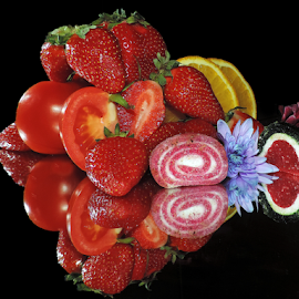 fruits,vegetables,candys and flowers by LADOCKi Elvira - Food & Drink Fruits & Vegetables ( fruits, vegetables )