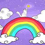 rainbows and kittens and sparkles