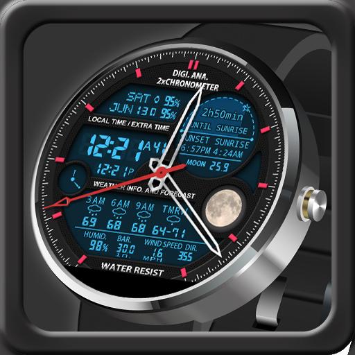 V12 Watch Face for Moto 360