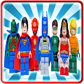 Puzzles Lego Hero Justice APK for Bluestacks