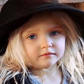 Little Match Girl by Cheryl Korotky - Babies & Children Child Portraits