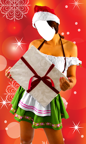 android Christmas Dress Photo Montage Screenshot 7