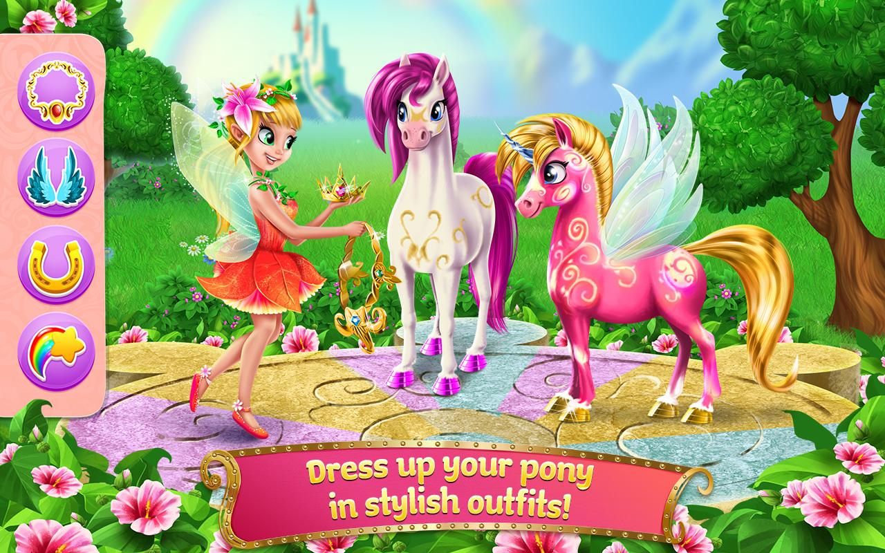 Princess Fairy Rush Screenshot