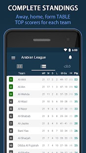 Livescore Saudi Arabia League+ - screenshot