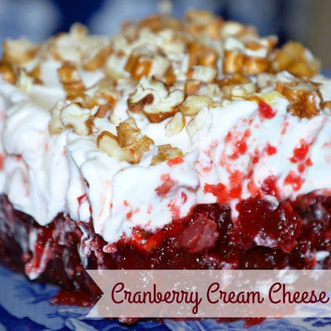 Cranberry Cream Cheese Dessert