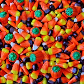 Candy Corn by Jarrod Unruh - Food & Drink Candy & Dessert ( holiday, orange, sweets, candy, food, holidays, yellow, trick or treat, halloween )