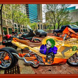 The Joker by James Eickman - Transportation Motorcycles ( motorcycles, motorbike, indy, motorcycle, motorsport,  )